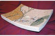 Marble mosaic washbasin
