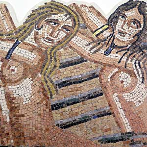 Greco roman traditional mosaic
