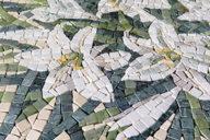 Mosaic table for a garden