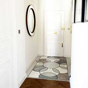 mosaic doorstep