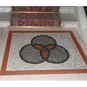 Belle Epoque mosaic restoration