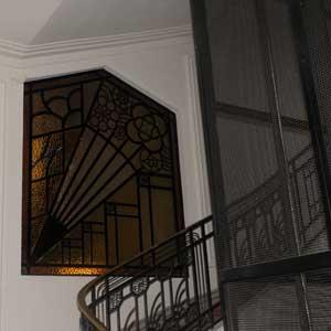 Belle Epoque mosaic restoration