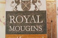 Brandname, sign, logo: contemporary marble mosaic artwork