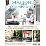 Press article on rachel's mosaic artworks by the magazine Maison de Campagne